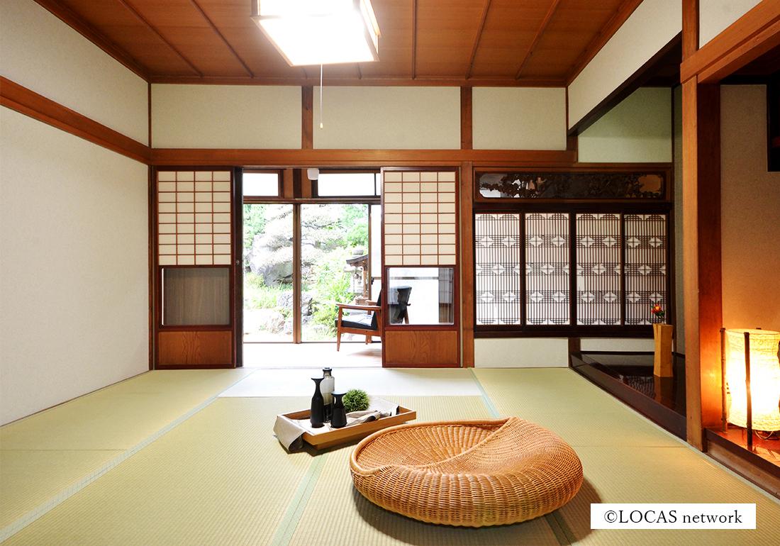 代々の日本庭園を愛でる暮らし
